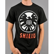 Marvel SHIELD T-Shirt Sheer