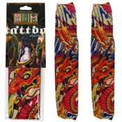 Dragon Orange Head Tattoo Sleeves