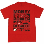 Avengers Money Power Respect T Shirt
