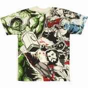 Avengers Movie Ready T Shirt