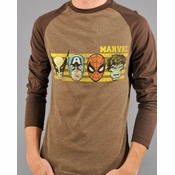Marvel Faces T Shirt