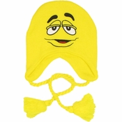 M and M Yellow Lapland Beanie