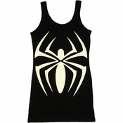 Spider Girl Black Costume Tank Top Dress