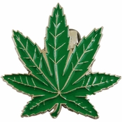 420 Leaf Belt Buckle