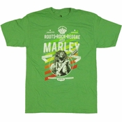 Bob Marley Roots Rock Reggae T Shirt