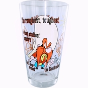 Looney Tunes Yosemite Sam Pint Glass