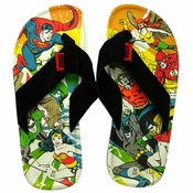 Justice League Action Sandals