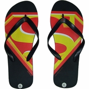 Superman Yellow S Sandals