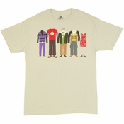 Big Bang Theory Clothing T Shirt