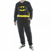 Batman Costume Cape Union Suit