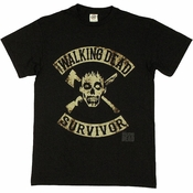 Walking Dead Survivor T Shirt