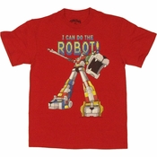 Voltron Do Robot T Shirt