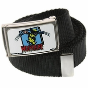 X Men Wolverine Attack Mesh Belt
