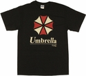 Resident Evil Umbrella T Shirt