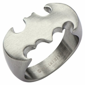 Batman Logo Matte Ring