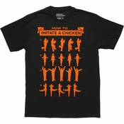 Arrested Development Imitate Chicken T Shirt