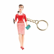 Barbie Teacher Keychain