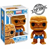 Fantastic Four Thing Pop Marvel Vinyl Bobblehead