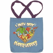 Marvel Date Superheroes Tote Bag