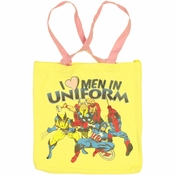 Marvel Men Uniform Tote Bag