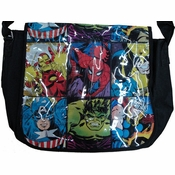 Marvel Grid Messenger Bag