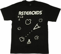 Atari Asteroids Game Screen T Shirt