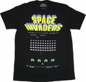 Atari Space Invaders T Shirt Sheer