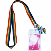 My Little Pony Rainbow Dash Charm Lanyard