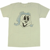 Rocky and Bullwinkle Rocky T Shirt Sheer