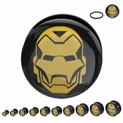 Iron Man Acrylic Plugs