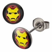 Iron Man Stud Earrings