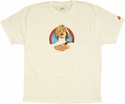 Power Girl Portrait T Shirt