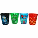Justice League Symbols Shot Glass Set