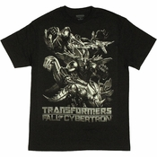 Transformers Fall of Cybertron T Shirt