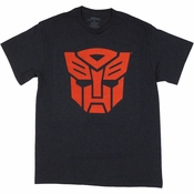 Transformers Autobot Red Logo T Shirt