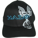 Halo Blue Outline Name Hat