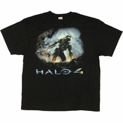 Halo 4 Cover Art T Shirt