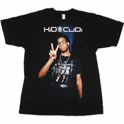 Kid Cudi Peace Sign T Shirt Sheer