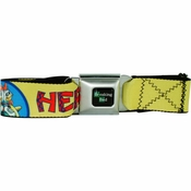 Breaking Bad Los Pollos Hermanos Seatbelt Mesh Belt