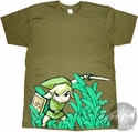 Zelda Grass Center T Shirt Sheer