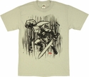 Zelda Link Sketch T Shirt