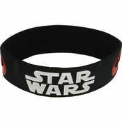 Star Wars Logo Rubber Wristband