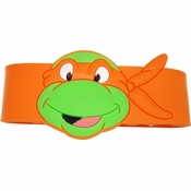 Ninja Turtles Michelangelo Head Rubber Wristband