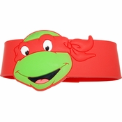 Ninja Turtles Raphael Head Rubber Wristband