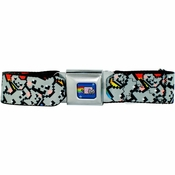 Nyan Cat Collage Seatbelt Mesh Belt
