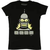Futurama Ctrl Alt Shift Kill Baby Tee