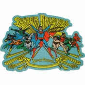 Super Friends Group Patch