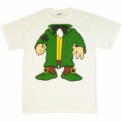 Irish Leprechaun Body T Shirt