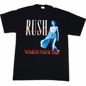 Rush Permanent Waves Tour T Shirt