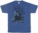 Big Lebowski Bummer T Shirt Sheer